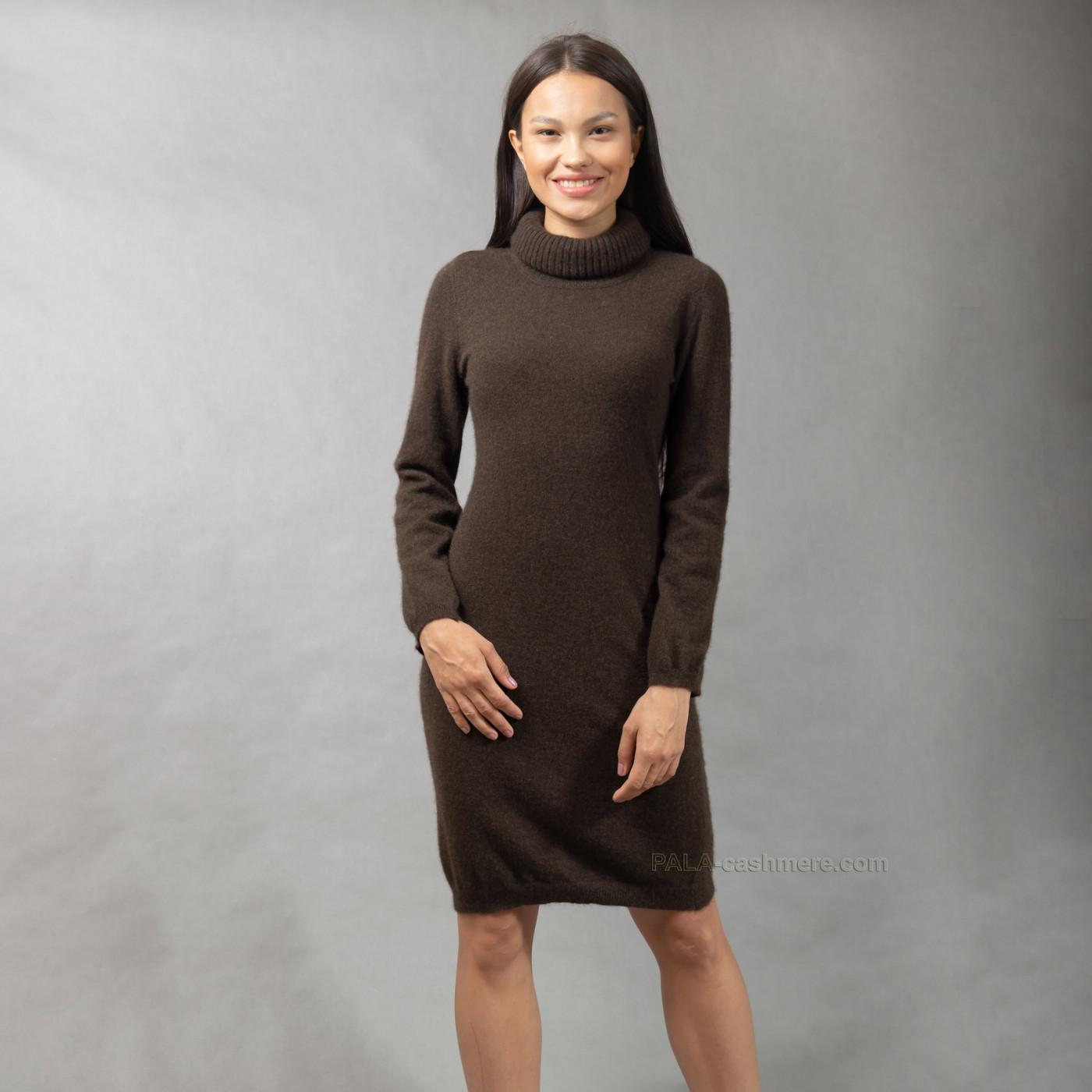 Надела Черное Шерстяное Платье
