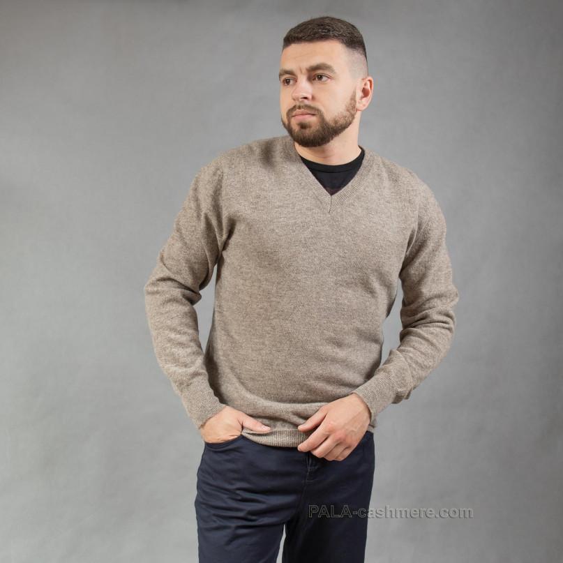 Пуловер шерстяной мужской