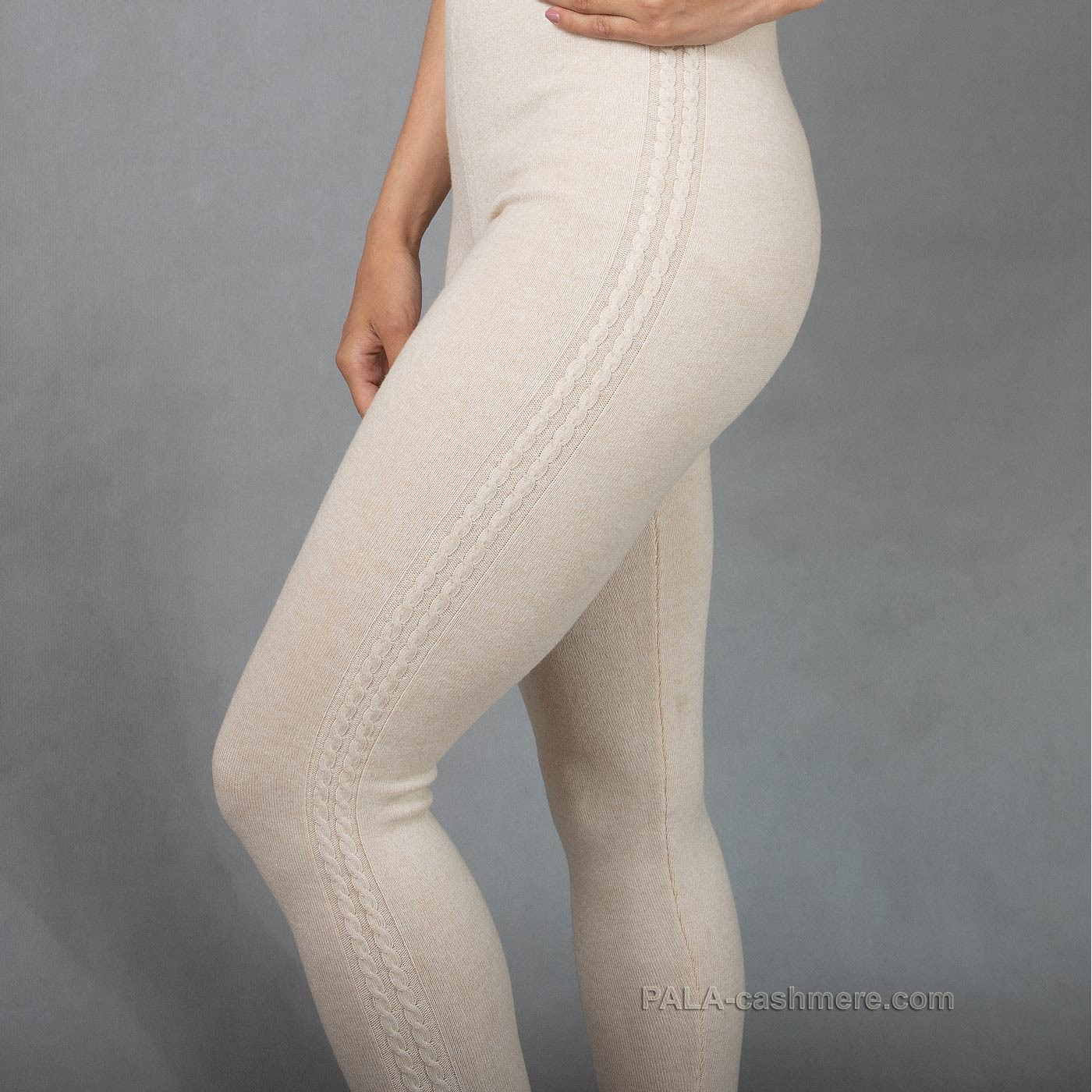 Leggings are woolly and light