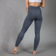 Leggings of sheep's wool grey and blue