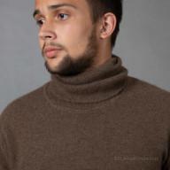 Свитер шерсть яка высокое горло