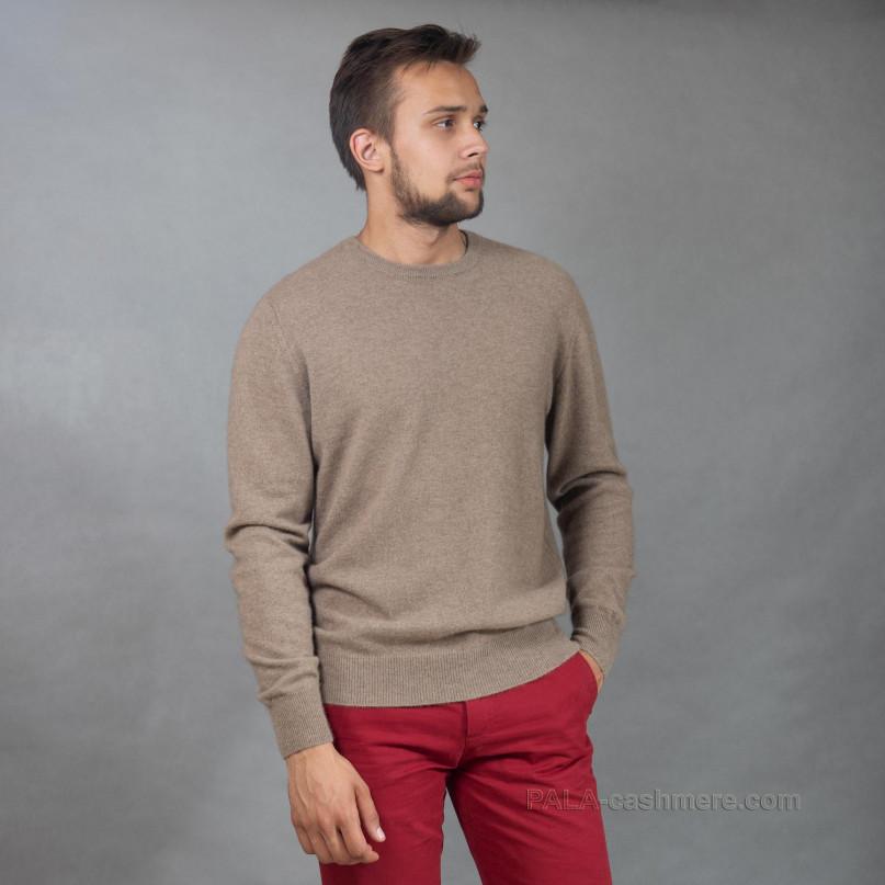Джемпер кашемировый цвет капучино