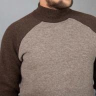 Свитер мужской светло-коричневый