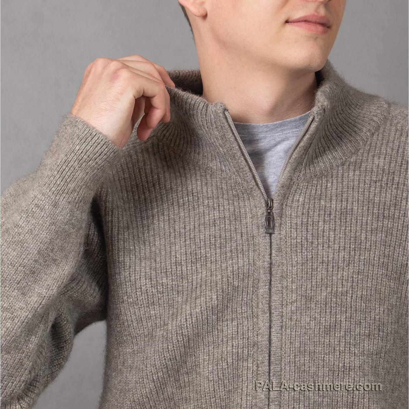 Джемпер шерсть яка теплый мужской