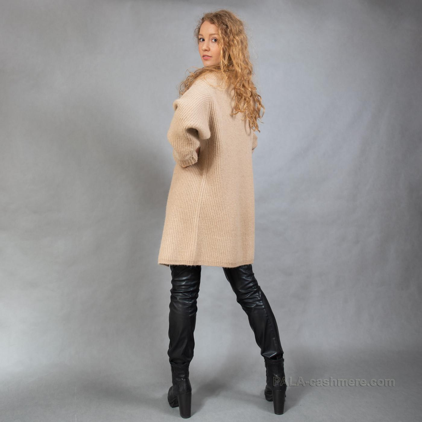 Кардиган женский из верблюжьей шерсти