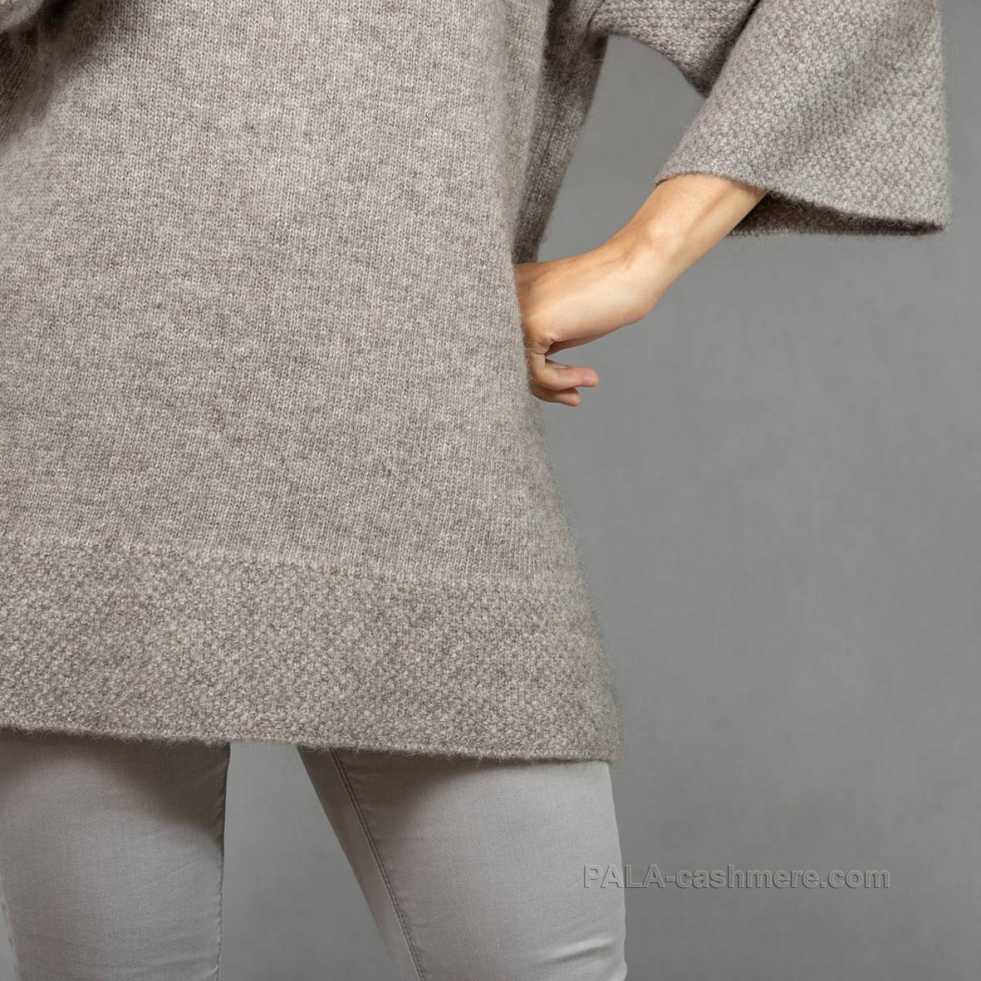 Женский джемпер из шерсти яка