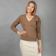 Пуловер женский из 100% верблюжьей шерсти