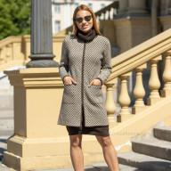 Пальто весеннее с карманами