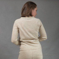 Women's woollen jumper is light