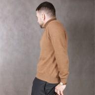Camel Wool Slim Sweater