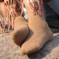 Носки из шерсти верблюда