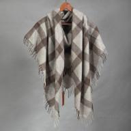 Шерстяной платок из пуха яка