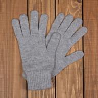 Серые кашемировые перчатки