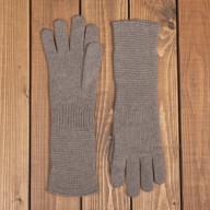 Женские длинные кашемировые перчатки