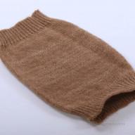 Вязаный шерстяной налокотник