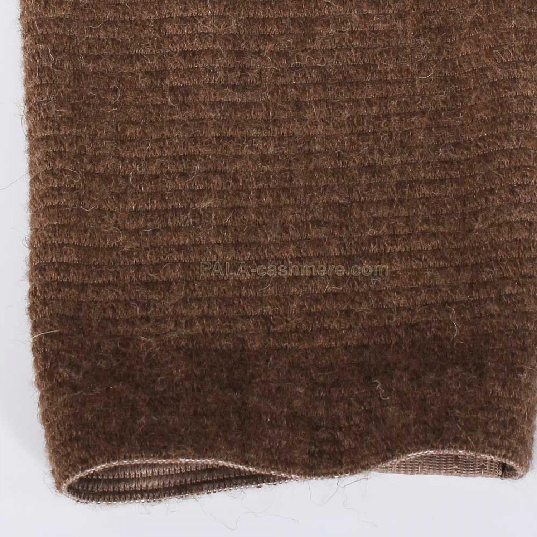 Camel Wool Knee on elastic material