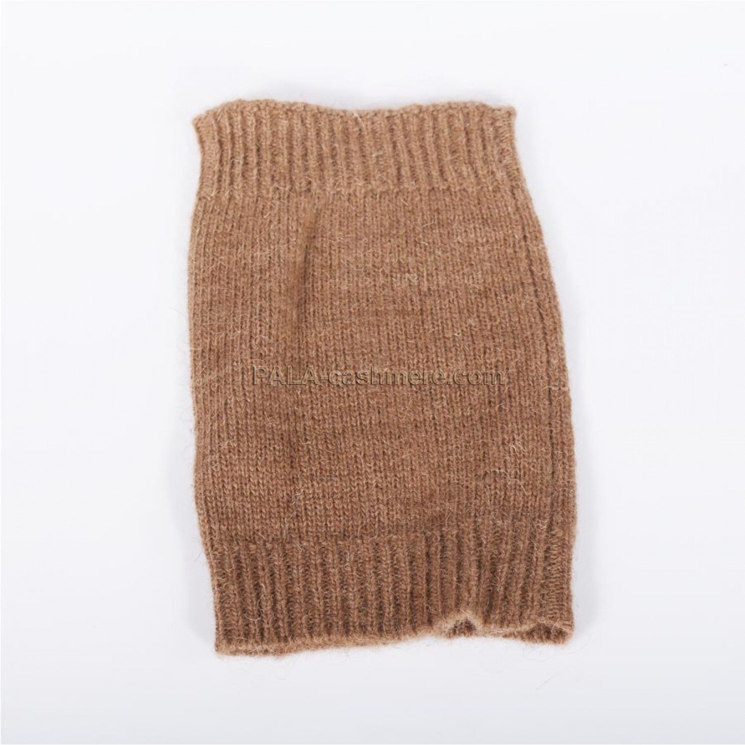 Thin Knitted Knee From Camel's Hair