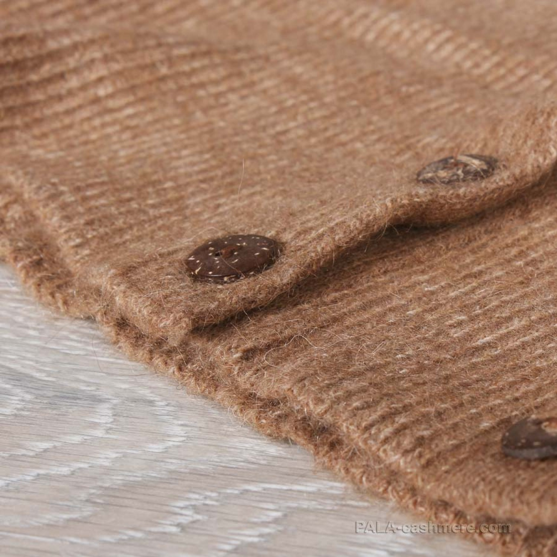 Пояс из верблюжьей шерсти на пуговицах