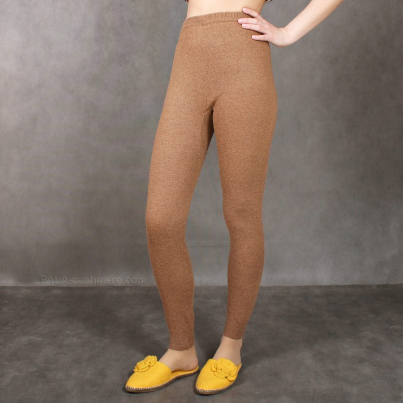 Leggings made of camel hair