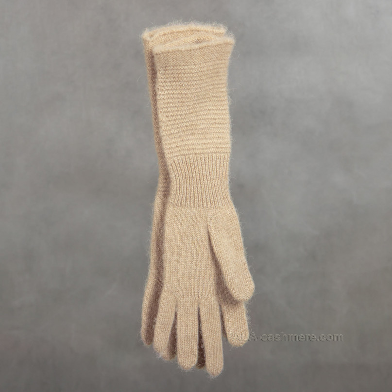 Перчатки из верблюжьей шерсти женские