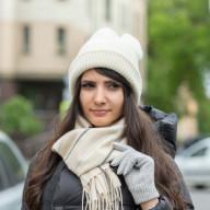 Зимняя шапка из шерсти ягнят