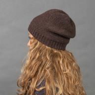 Осенняя шапка шерсть яка