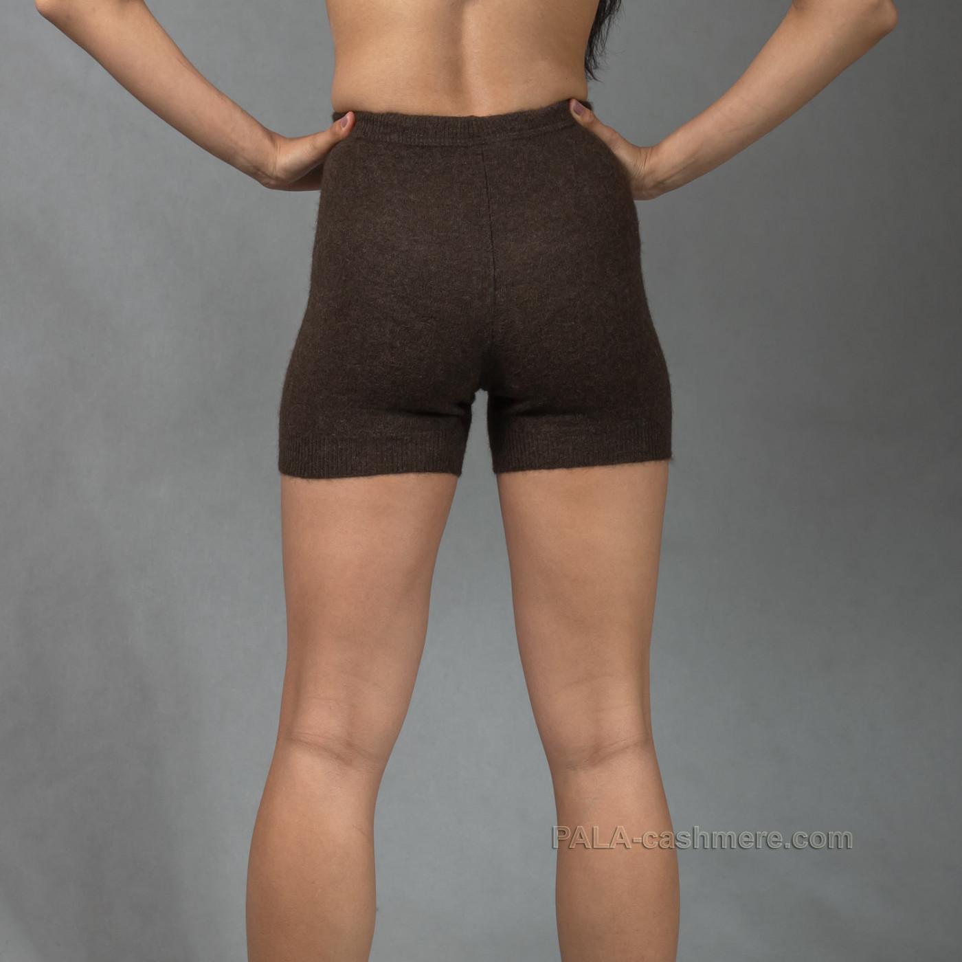 Короткие шорты из шерсти яка