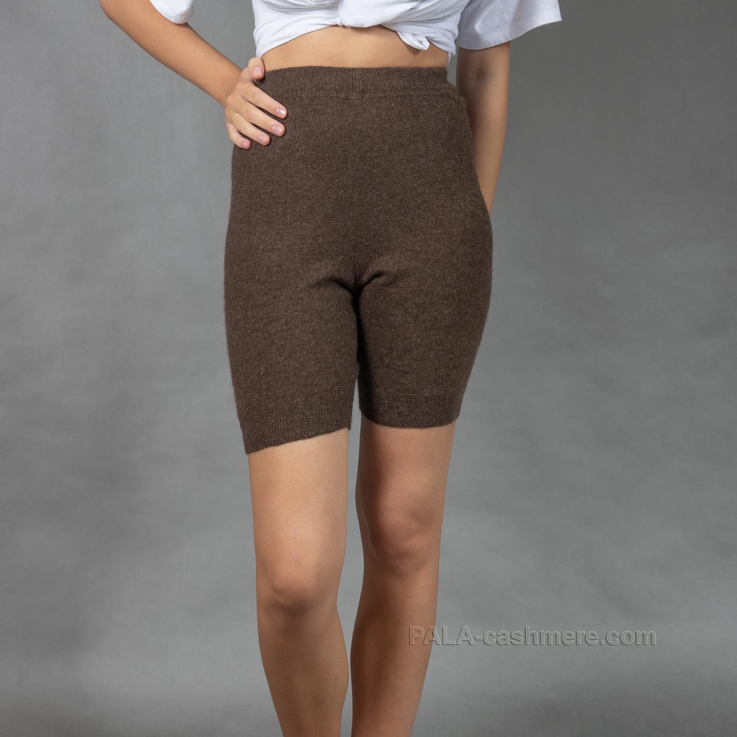 Women's wool shorts for clothes
