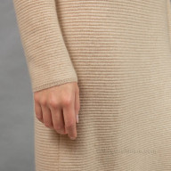 Cashmere dress is light