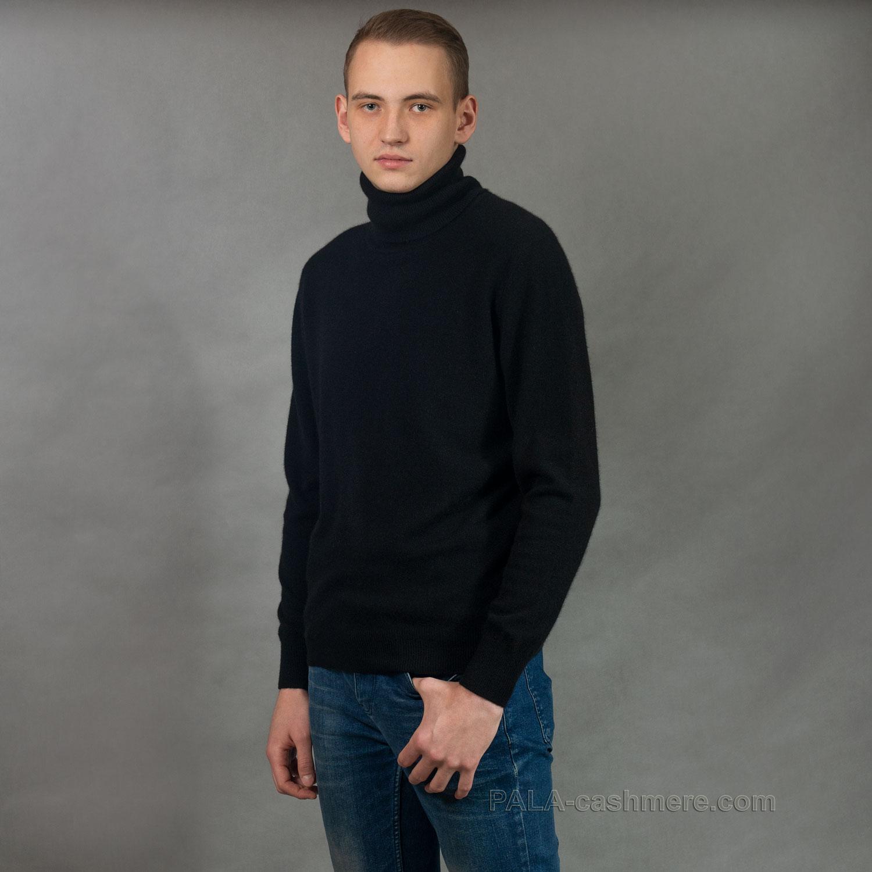 Свитер из кашемира черный