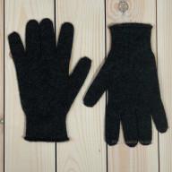 Темно-серые кашемировые перчатки