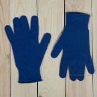 Женские кашемировые перчатки синие