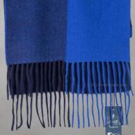Cashmere scarf blue