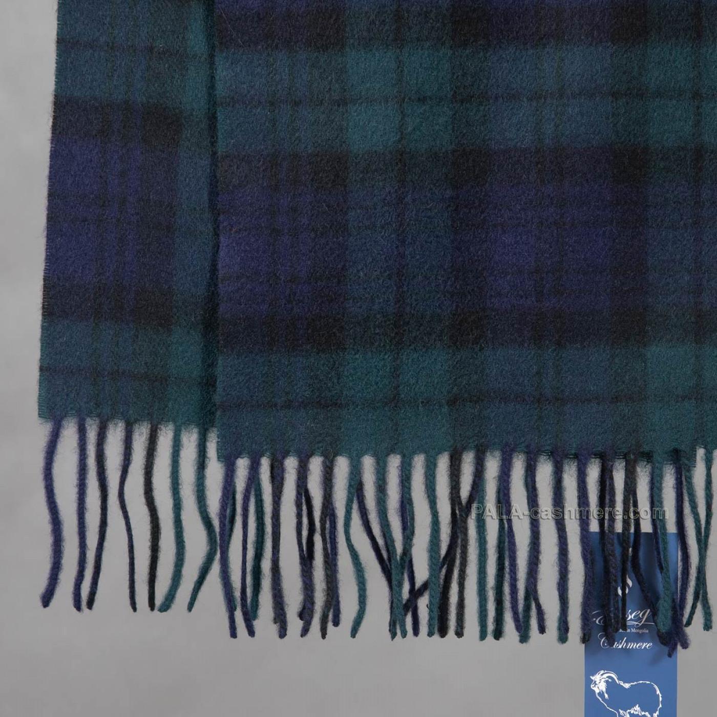 Мужской шарф из кашемира с кистями