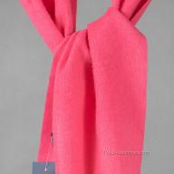 Шарф кашемировый розового цвета