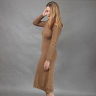 Платье из верблюжьей шерсти зимнее