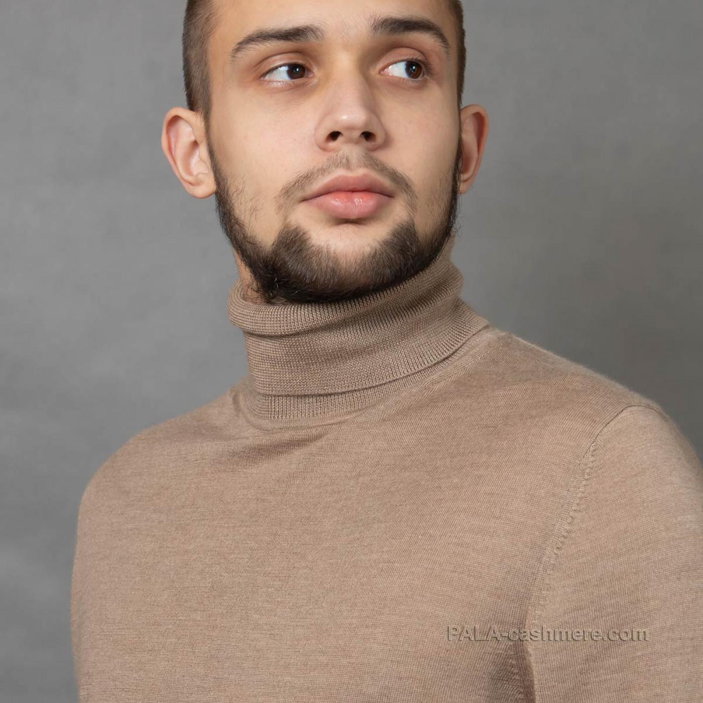 Свитер кашемир-шелк мужской