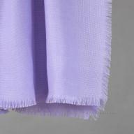 Женский шерстяной платок сиреневый