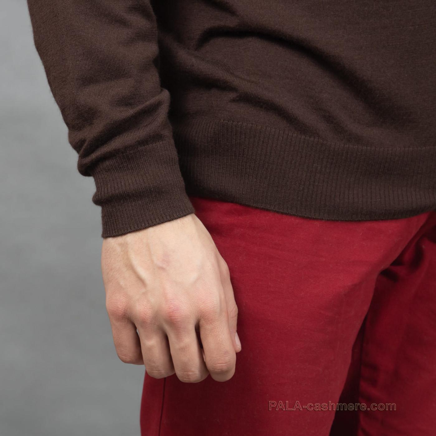 Мужской кардиган кашемир-шелк