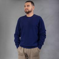 Синий мужской джемпер из кашемира