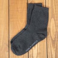 Однотонные шерстяные носки