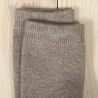 Бежевые кашемировые носки