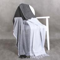 Cashmere Plaid Grey-Blue