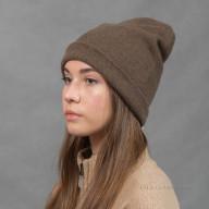 Двойная шапка из пуха яка