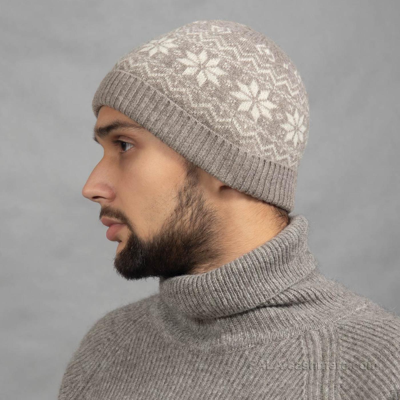 Тонкая шерстяная шапка