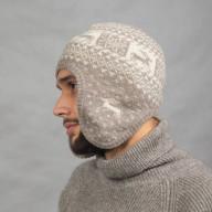 Мягкая шапка ушанка