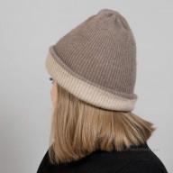 Натуральная кашемировая шапка
