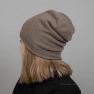 Кашемировая шапка двойная