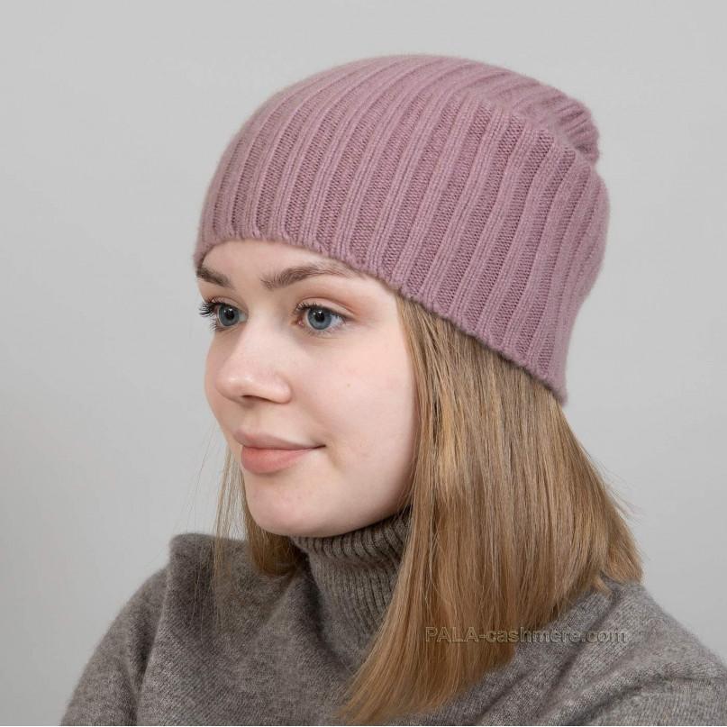 Женская кашемировая шапка