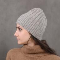 "Yak Wool Gray Hat  ""elastic 1"""